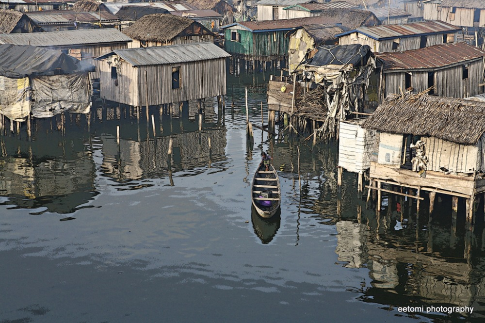 photoblog image Scenes from Makoko: Reflections